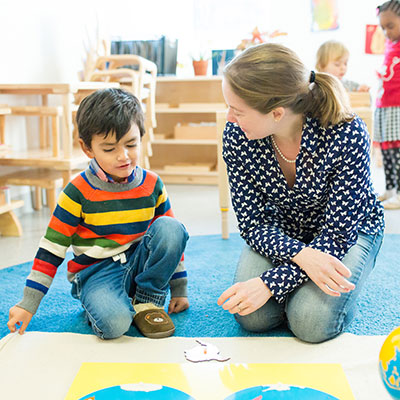 Teaching Montessori